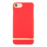 【iPhone8/7 ケース】R&F Classic Satin (Red)