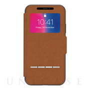 【iPhoneX ケース】SenseCover (Caramel Brown)