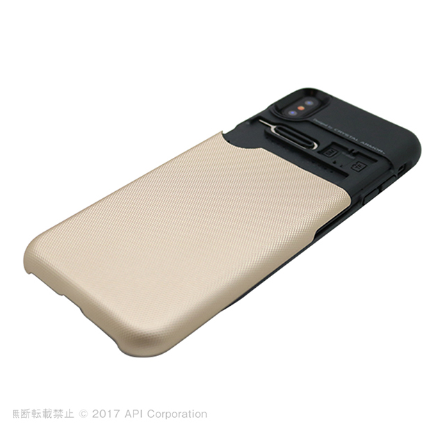 【iPhoneXS/X ケース】Card Holder Case (GRAY)サブ画像