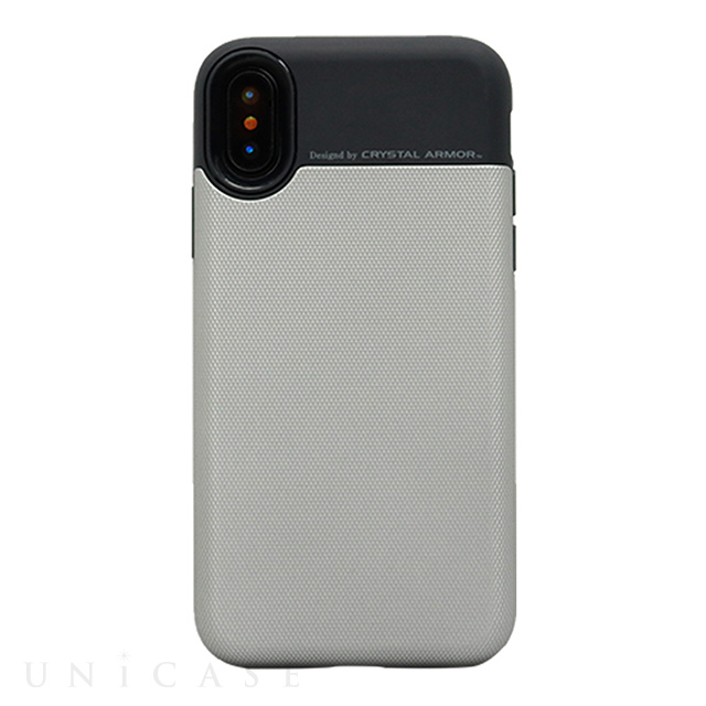 【iPhoneXS/X ケース】Card Holder Case (GRAY)