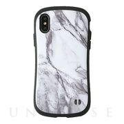 【iPhoneXS/X ケース】iFace First Class Marbleケース (ホワイト)