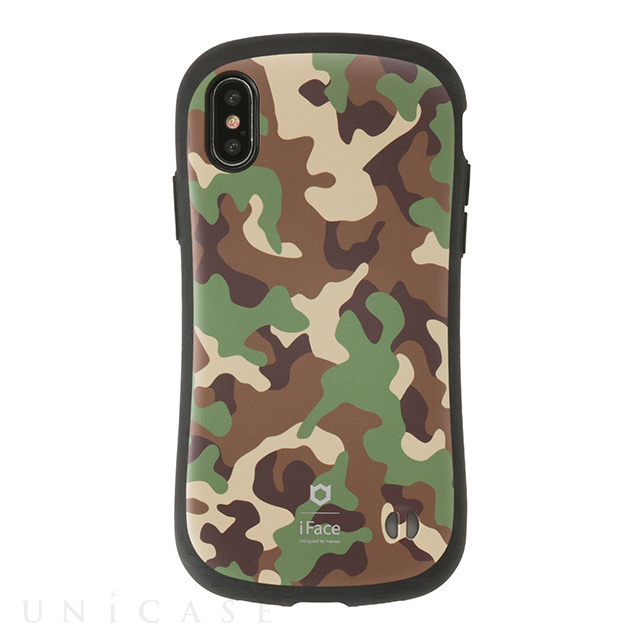 【iPhoneXS/X ケース】iFace First Class Militaryケース (カーキ)