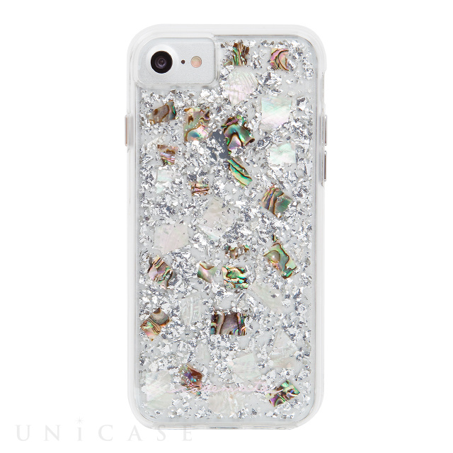 【iPhone8/7/6s/6 ケース】Karat Case (Mother of Pearl)