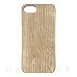 【iPhone8/7 ケース】REAL WOODEN CASE COVER 「WoodGrain-木目-」 (アッシュ)