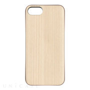 【iPhone8/7 ケース】REAL WOODEN CASE COVER 「WoodGrain-木目-」 (木曽檜)