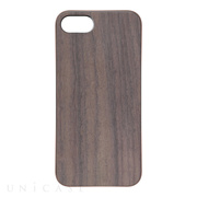 【iPhone8/7 ケース】REAL WOODEN CASE COVER 「WoodGrain-木目-」 (ローズウッド)