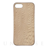 【iPhone8/7 ケース】REAL WOODEN CASE COVER 「WoodGrain-木目-」 (屋久杉)