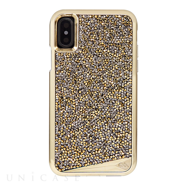 【iPhoneXS/X ケース】Brilliance Case (Gold)