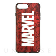 【iPhone8 Plus/7 Plus ケース】MARVEL IIII fit (ロゴ)
