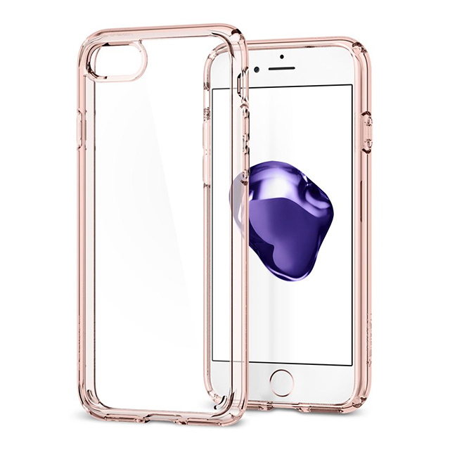 【iPhoneSE(第2世代)/8/7 ケース】Ultra Hybrid 2 (Rose Crystal)