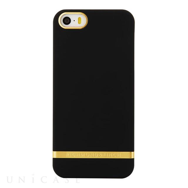 f3fad09f21 【iPhoneSE/5s/5 ケース】R&F Classic (Satin/Black)