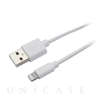 HUGE(ヒュージ) HUGE Lightning CABLE 1.0m ホワイト