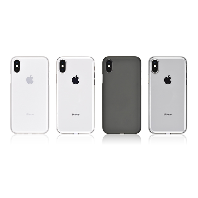 【iPhoneX ケース】Air Jacket (Clear Matt)サブ画像