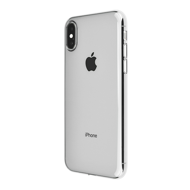 【iPhoneX ケース】Air Jacket (Clear Black)サブ画像
