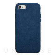 【iPhone8/7 ケース】Ultrasuede Air jacket (Blue)