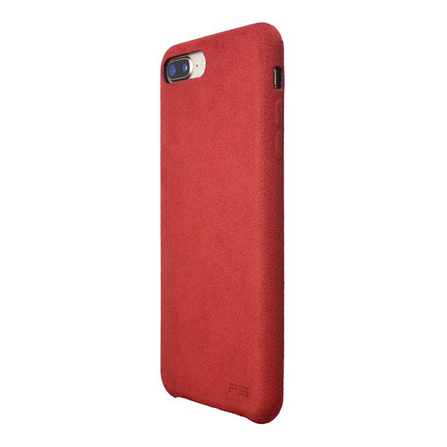 【iPhone8 Plus/7 Plus ケース】Ultrasuede Air jacket (Red)サブ画像