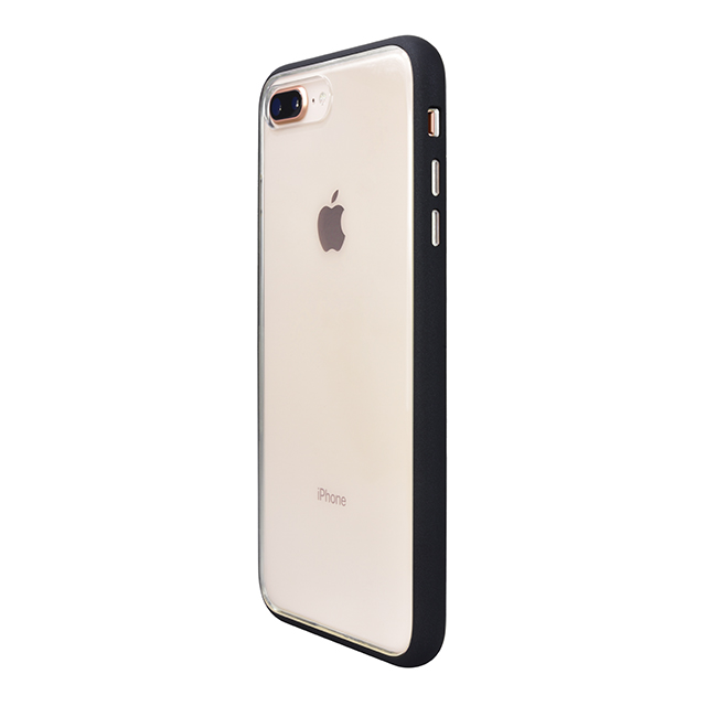 【iPhone8 Plus/7 Plus ケース】Shock proof Air Jacket (Rubber Black)サブ画像
