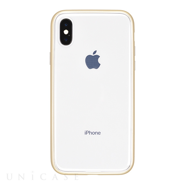 【iPhoneX ケース】Shock proof Air Jacket (Rubber Gold)