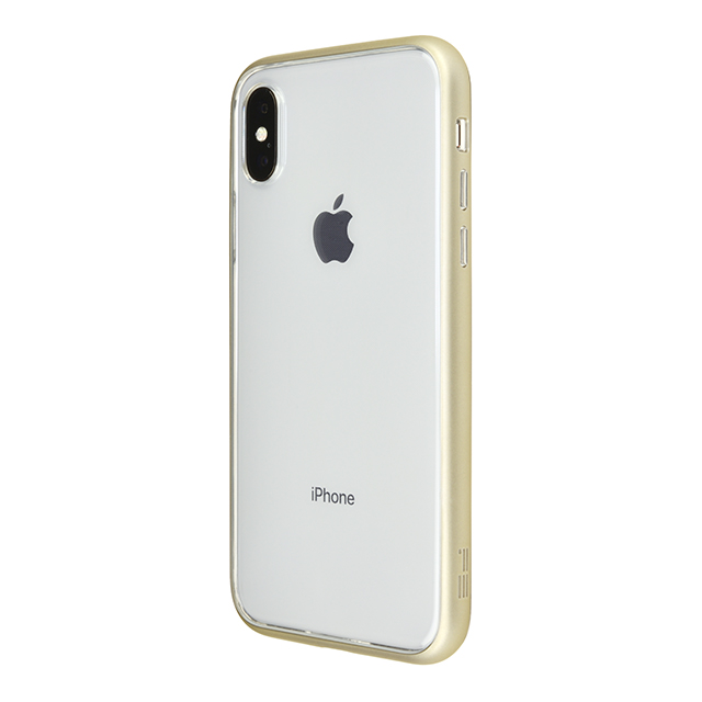 【iPhoneX ケース】Shock proof Air Jacket (Rubber Gold)サブ画像