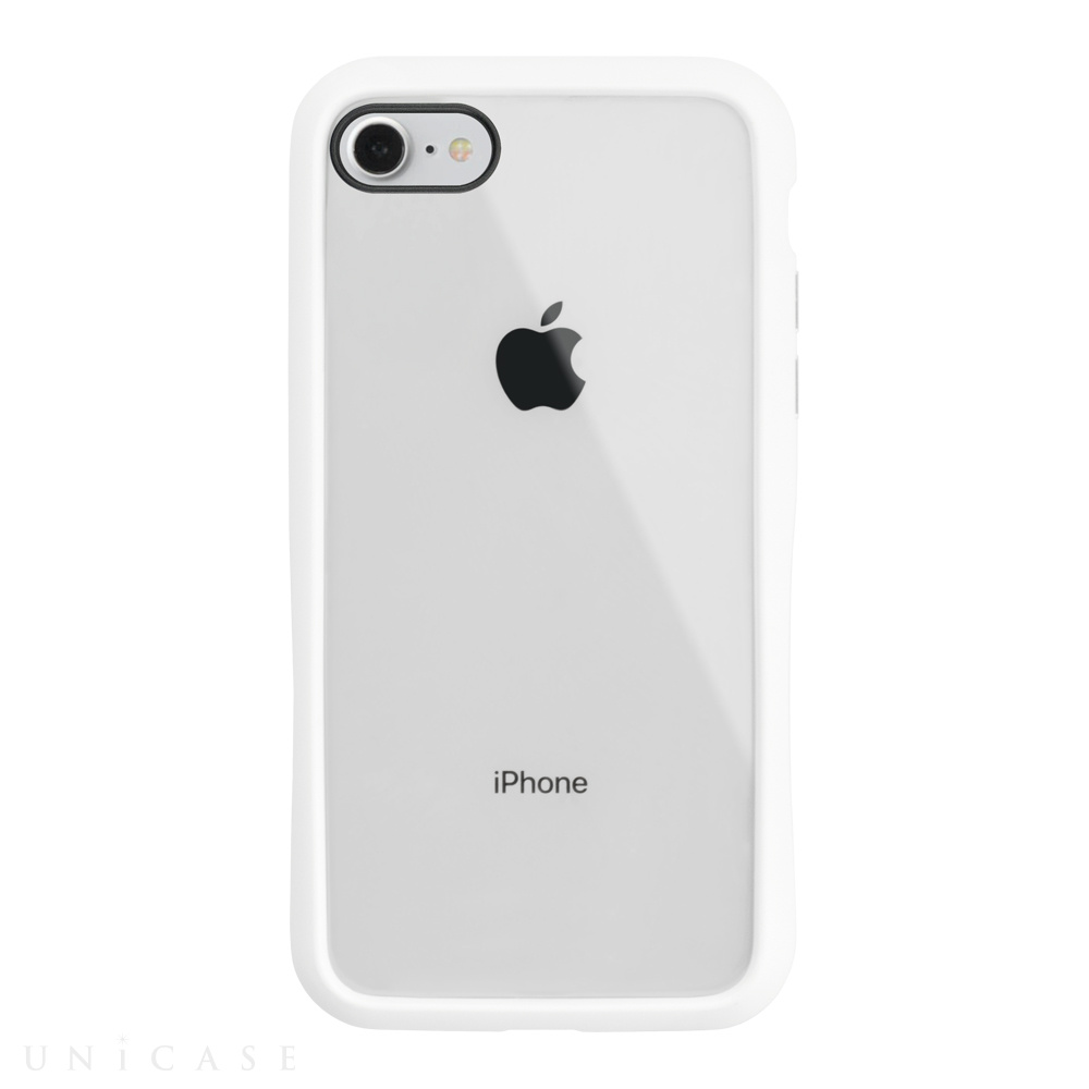 【iPhone8/7 ケース】HYBRID SLIM CASE for iPhone8/7(White)