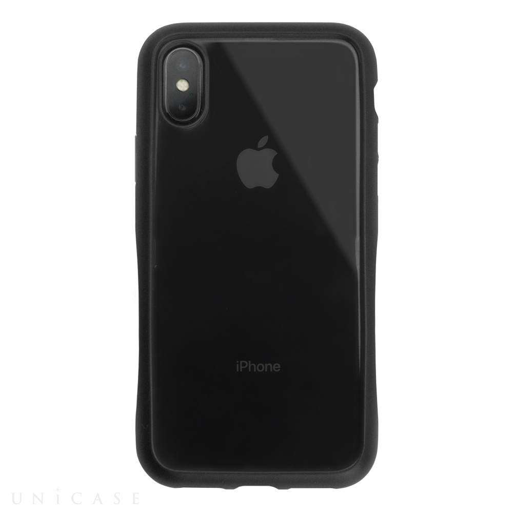 【iPhoneXS/X ケース】HYBRID SLIM CASE for iPhoneXS/X (Black)
