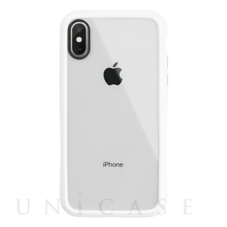 【iPhoneXS/X ケース】HYBRID SLIM CASE for iPhoneXS/X (White)