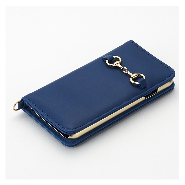 【iPhone8/7 ケース】Hami Diary for iPhone 8/7 Blueサブ画像