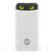 TUNEMAX CAT'S EYE BATTERY 10,000mAh (ホワイト)