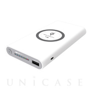 Wireless Charger Power Bank 8000mAh (ホワイト)
