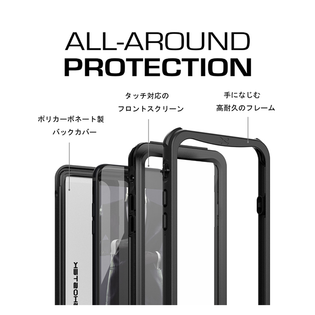 【iPhone8 ケース】Nautical (Black)サブ画像