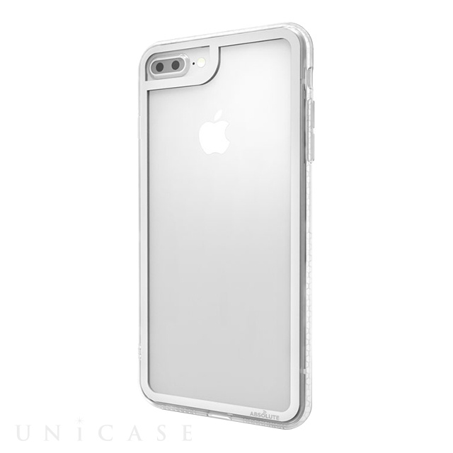 【iPhone8 Plus/7 Plus ケース】LINKASE CLEAR Gorilla Glass (シルバー/クリア)