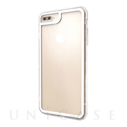 【iPhone8 Plus/7 Plus ケース】LINKASE CLEAR Gorilla Glass (ホワイト/クリア)