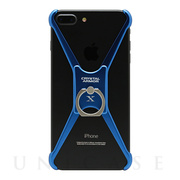 【iPhone8 Plus/7 Plus ケース】X Ring (INDIGO BLUE)
