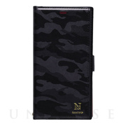 【iPhone8/7/6s/6 ケース】Colorful! CAMO (BLACK)
