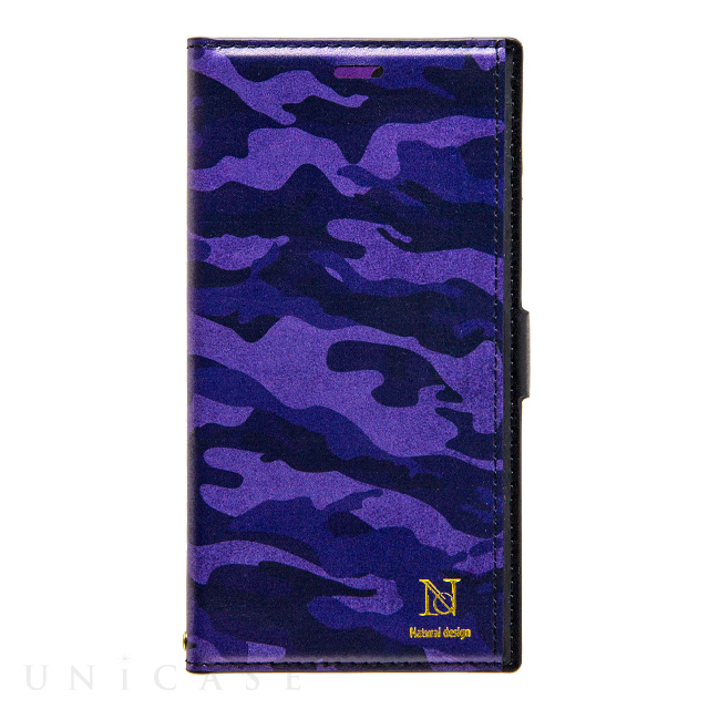 【iPhoneSE(第2世代)/8/7/6s/6 ケース】Colorful! CAMO (PURPLE)