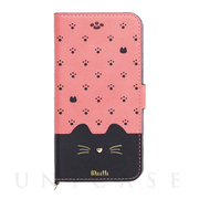 【iPhoneSE(第2世代)/8/7/6s/6 ケース】Minette (Pink-Black)