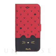 【iPhoneSE(第2世代)/8/7/6s/6 ケース】Minette (Red-Black)
