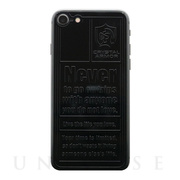 【iPhone8/7 フィルム】Emboss Back Protector (TYPOGRAPHY)