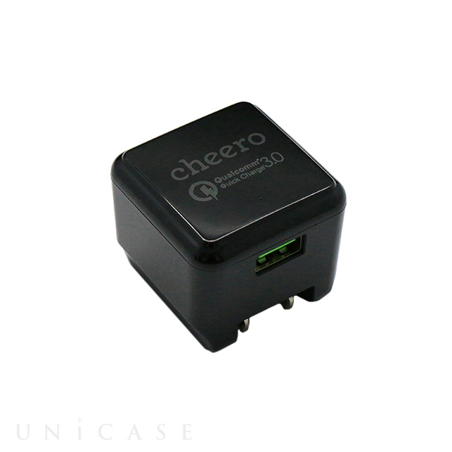 Quick Charge 3.0 technology USB Charger (ブラック)