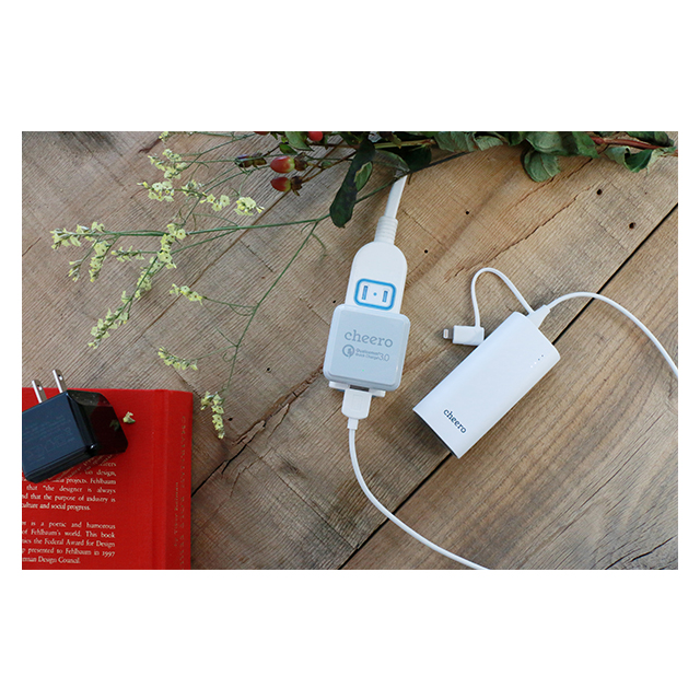 Quick Charge 3.0 technology USB Charger (ブラック)サブ画像