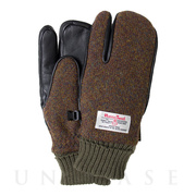 AUZA HARRIS TWEED (BROWN MIX) L