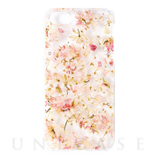 【iPhone8/7 ケース】ACRYLIC FLOWER CASE (PINK)