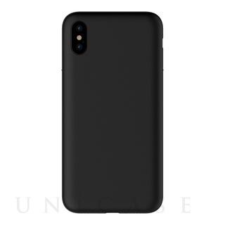 【iPhoneX ケース】MYNUS iPhoneX CASE (マットブラック)