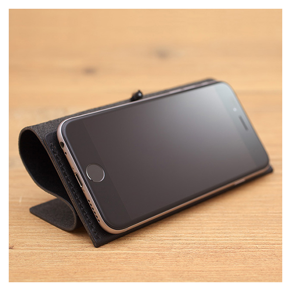 【iPhone8 Plus/7 Plus ケース】MYNUS TOCHIGI LEATHER CASE 167 (BLACK)サブ画像