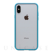 【iPhoneX ケース】METAL BUMPER (LIGHTNING BLUE)