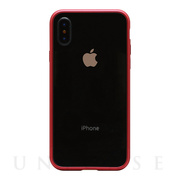 【iPhoneX ケース】METAL BUMPER (METAL RED)