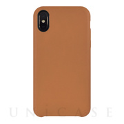 【iPhoneX ケース】TOIRO for iPhoneX(CAMEL)