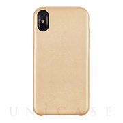 【iPhoneXS/X ケース】TOIRO BRIGHT for iPhoneXS/X(GOLD)