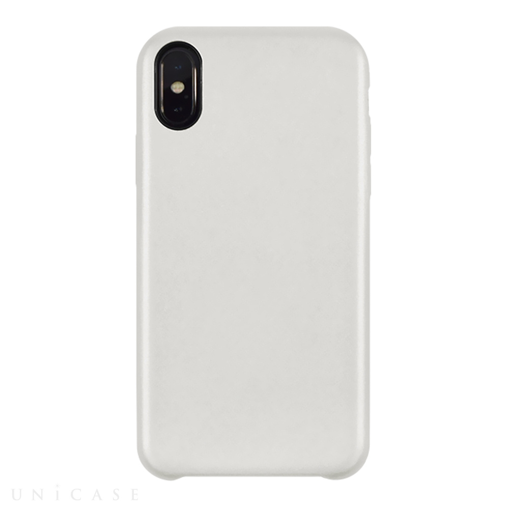 【iPhoneXS/X ケース】TOIRO BRIGHT for iPhoneXS/X(SILVER)