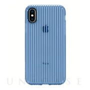 【iPhoneXS/X ケース】Protective Guard Cover (Blue)